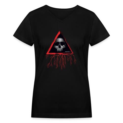 Rootkit Hoodie - Women's V-Neck T-Shirt