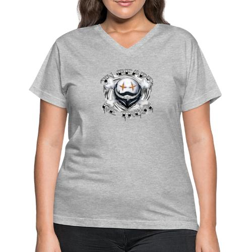 in beard we trust - Women's V-Neck T-Shirt