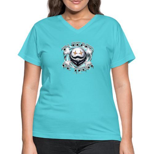 in beard we trust - Women's V-Neck T-Shirt