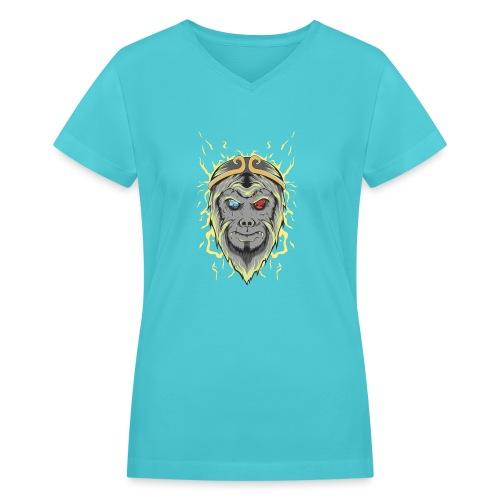 d21 - Women's V-Neck T-Shirt