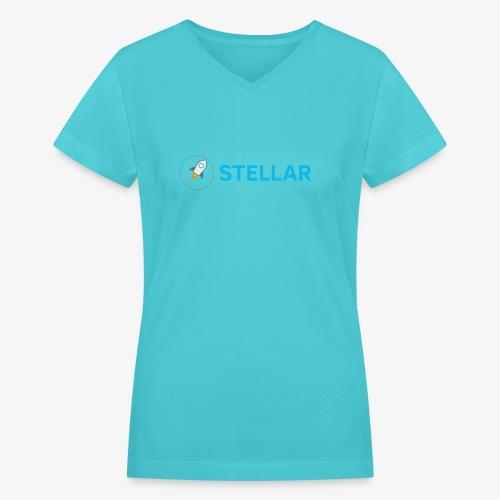 Stellar - Women's V-Neck T-Shirt