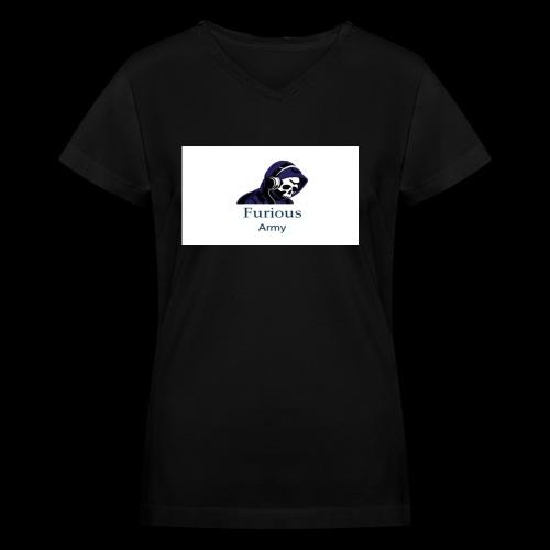 savage hoddie - Women's V-Neck T-Shirt