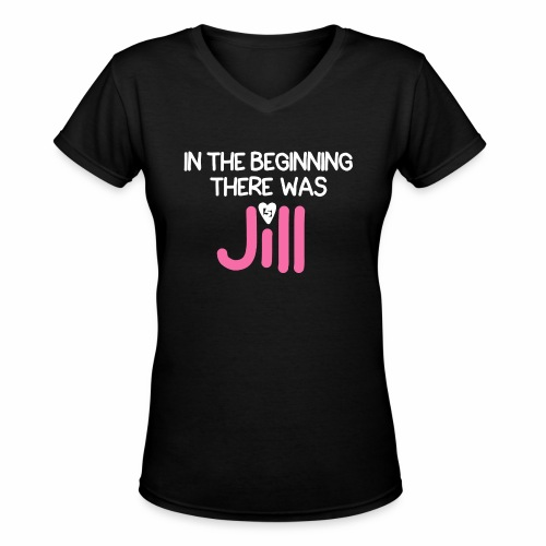 Women's In the beginning there was House Shirt - Women's V-Neck T-Shirt