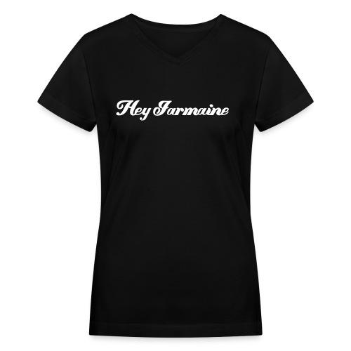 heyj3 - Women's V-Neck T-Shirt