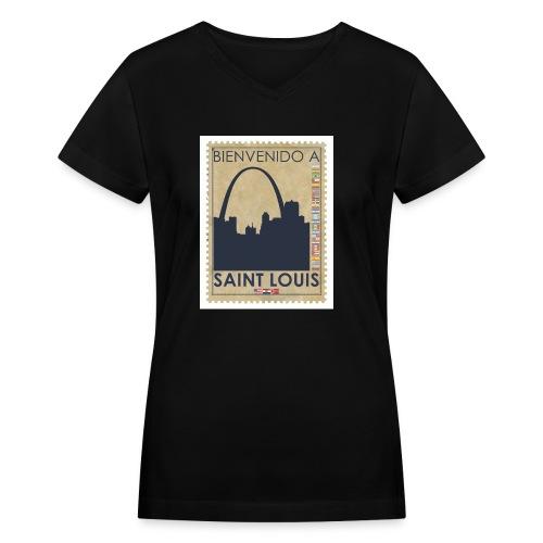 Bienvenido A Saint Louis - Women's V-Neck T-Shirt