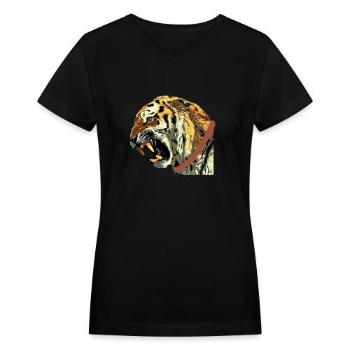 photo - Women's V-Neck T-Shirt