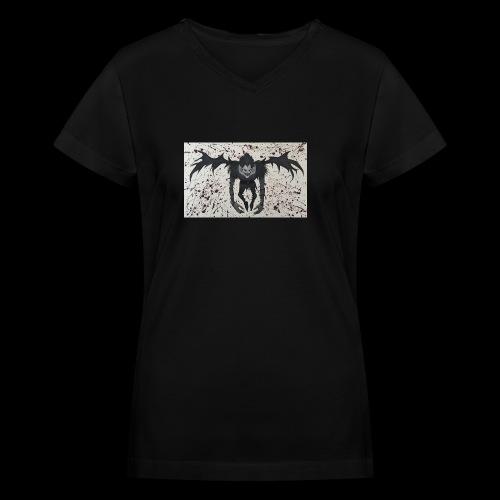 Ryuk - Women's V-Neck T-Shirt