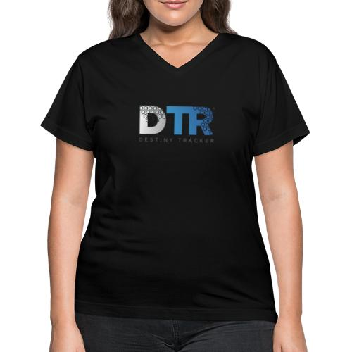 Destiny Tracker v2 Womens - Women's V-Neck T-Shirt