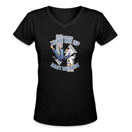 Like Excalibur - Women's V-Neck T-Shirt