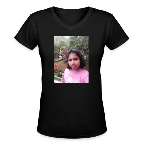 Tanisha - Women's V-Neck T-Shirt