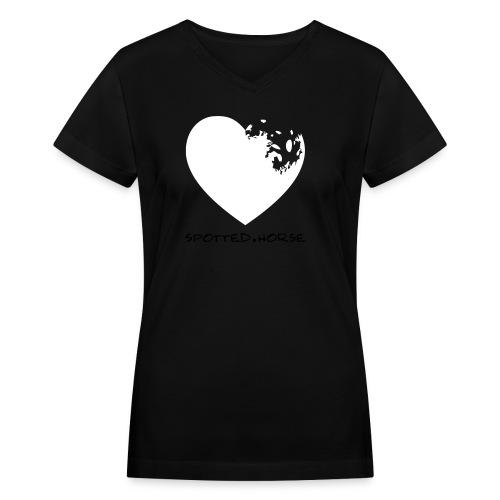 Appaloosa Heart - Women's V-Neck T-Shirt