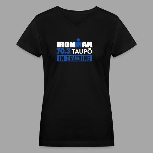 70.3 Taupo alt - Women's V-Neck T-Shirt