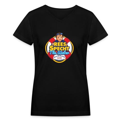 RSTWHIGH - Women's V-Neck T-Shirt