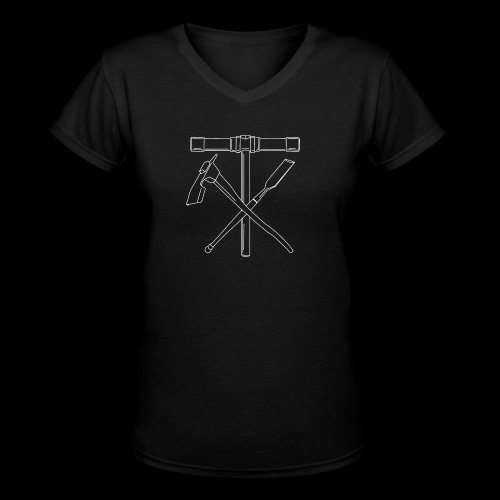 Shipwright Tools - Women's V-Neck T-Shirt