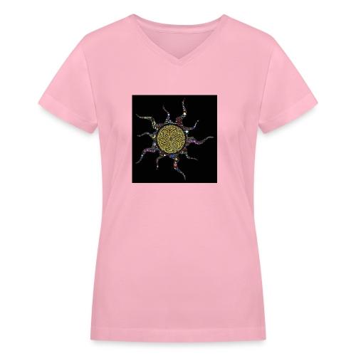 awake - Women's V-Neck T-Shirt