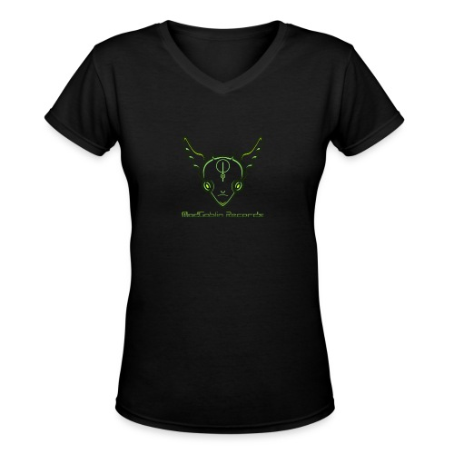 ModGoblin mouse pad - Women's V-Neck T-Shirt