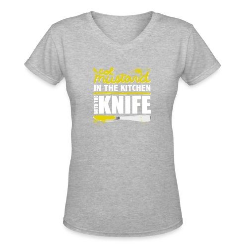 Colonel Mustard - Women's V-Neck T-Shirt