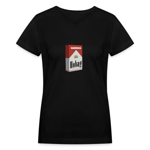 M4RLBORO Hobag Pack - Women's V-Neck T-Shirt