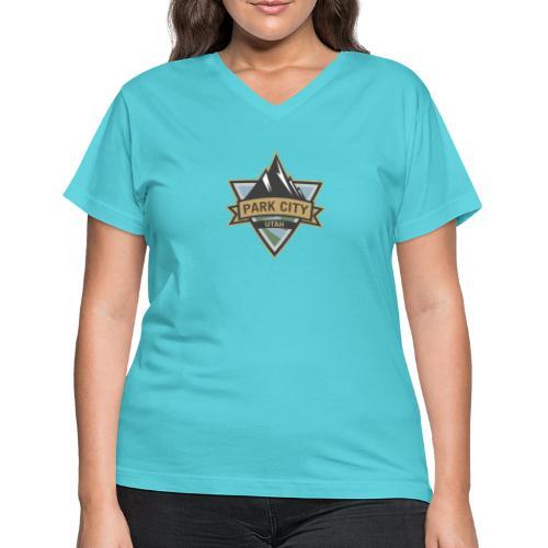 Park City, Utah - Women's V-Neck T-Shirt