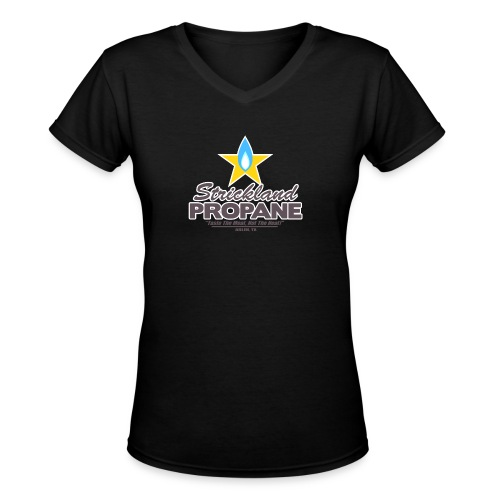 Strickland Propane Mens American Apparel Tee - Women's V-Neck T-Shirt
