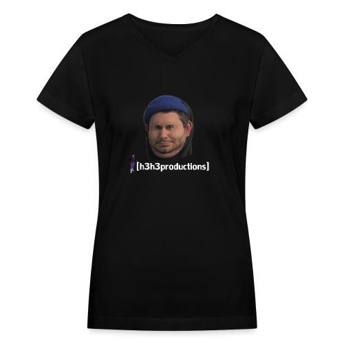 h3h3productions Ethan Klein - Women's V-Neck T-Shirt