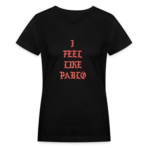Pablo - Women's V-Neck T-Shirt