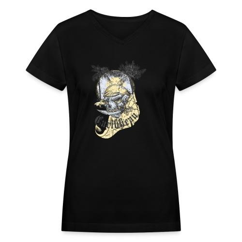 Carribean - Women's V-Neck T-Shirt