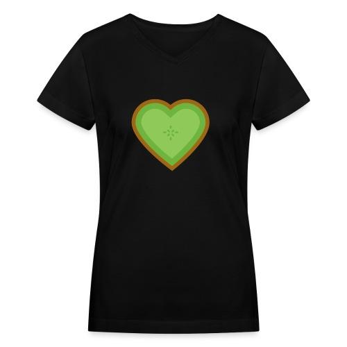 Fruit Love - Women's V-Neck T-Shirt