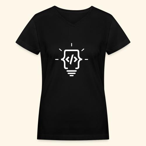 Framemark Web Design Logo - Women's V-Neck T-Shirt