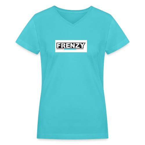 Frenzy - Women's V-Neck T-Shirt