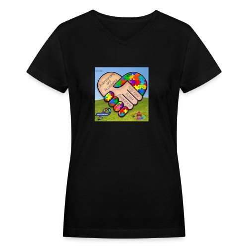 autpro1 - Women's V-Neck T-Shirt
