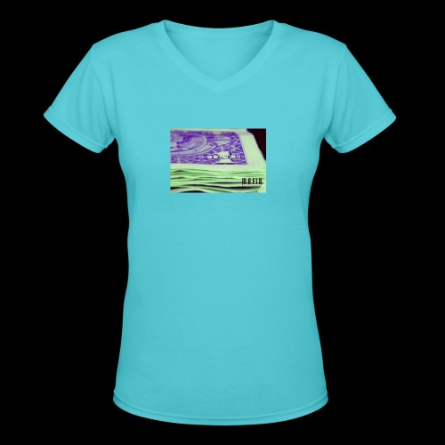 Another day another dollar MAFIA - Women's V-Neck T-Shirt