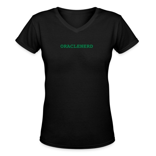 ORACLENERD - Women's V-Neck T-Shirt