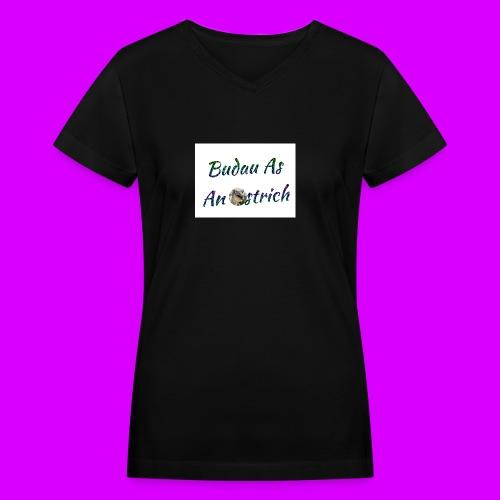 ipod touch ostrich box - Women's V-Neck T-Shirt