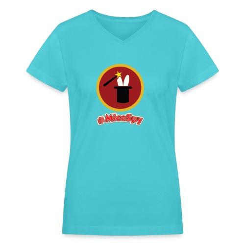 Magic Shop Explorer Badge - Women's V-Neck T-Shirt