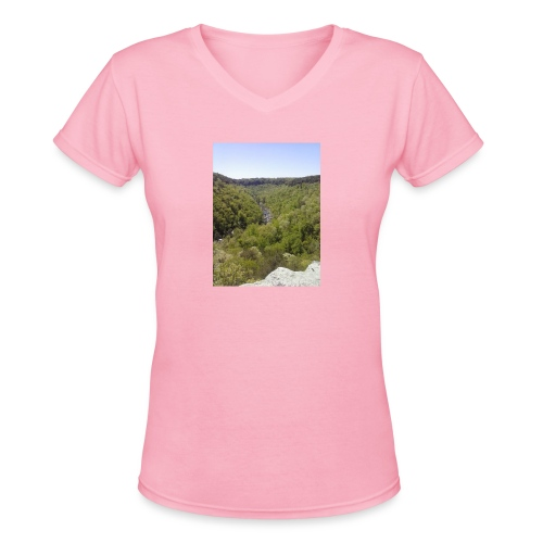 LRC - Women's V-Neck T-Shirt