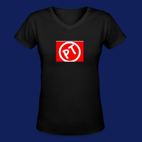 Enblem - Women's V-Neck T-Shirt