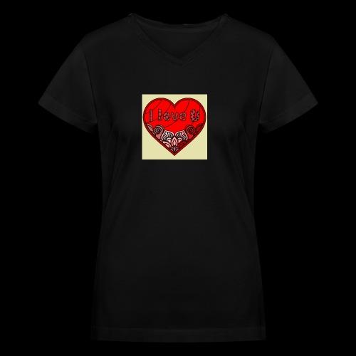 DE1E64A8 C967 4E5E 8036 9769DB23ADDC - Women's V-Neck T-Shirt