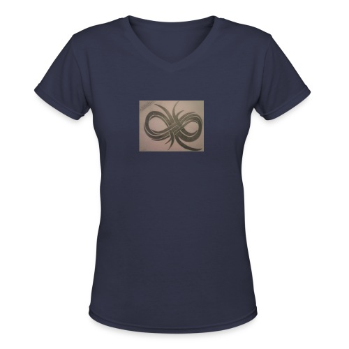 Infinity - Women's V-Neck T-Shirt