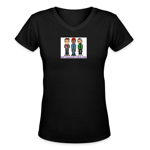 MMS SHIRT1 jpg - Women's V-Neck T-Shirt