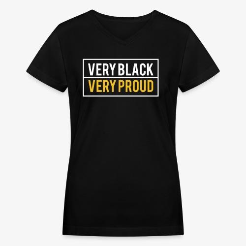 Melanin Pride - Women's V-Neck T-Shirt
