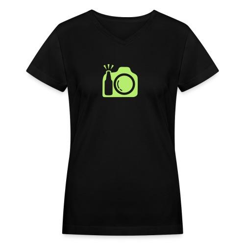 tmremoved2 - Women's V-Neck T-Shirt