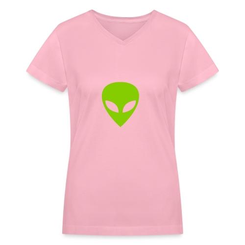 Alien - Women's V-Neck T-Shirt