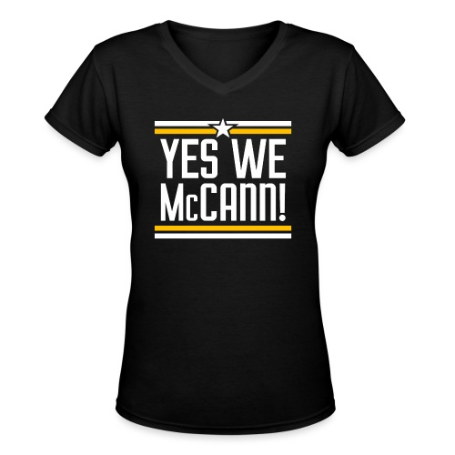 YesWeMc - Women's V-Neck T-Shirt