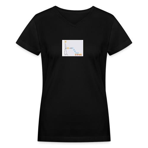PD Cover Art - Women's V-Neck T-Shirt