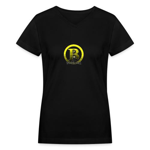 BFMWORLD - Women's V-Neck T-Shirt