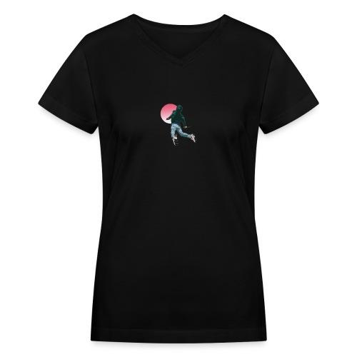 Fly - Women's V-Neck T-Shirt