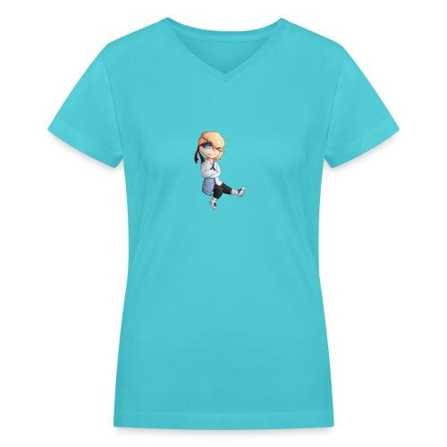 Martial Art Master Waifu Pancakes - Women's V-Neck T-Shirt