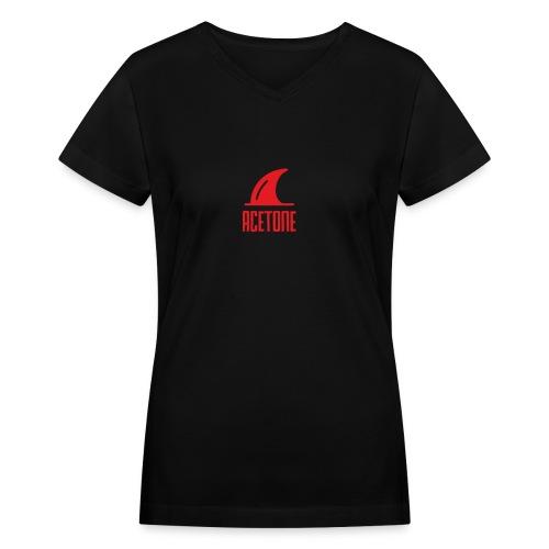ALTERNATE_LOGO - Women's V-Neck T-Shirt