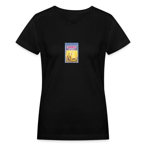 Gay Angel - Women's V-Neck T-Shirt